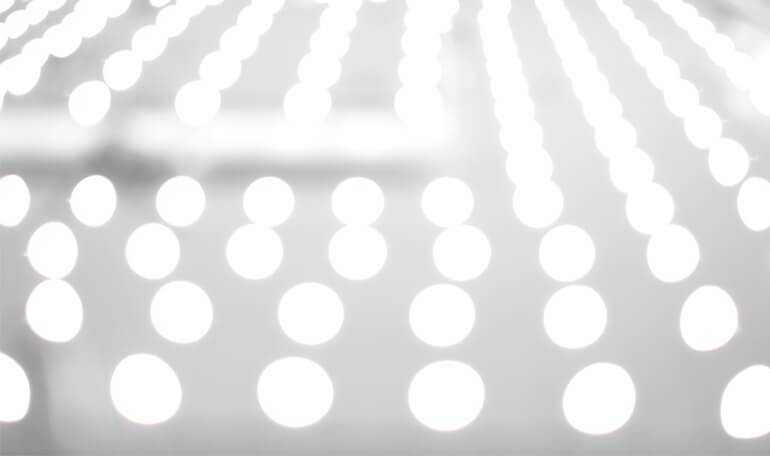 Sløret LED-lys baggrund