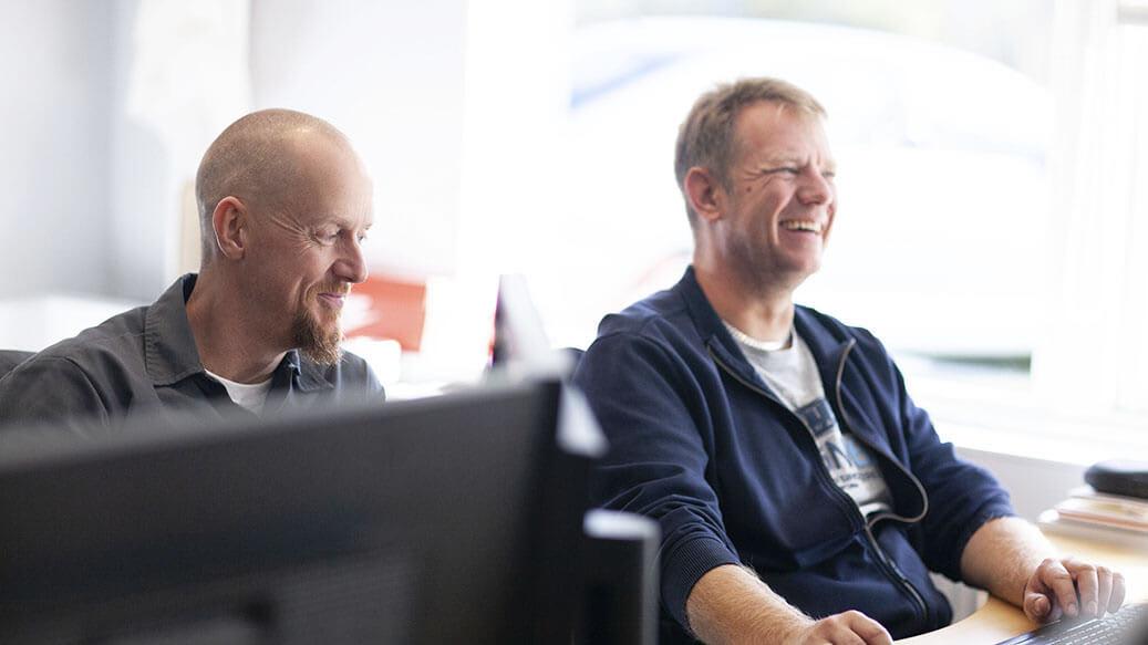 God virksomhedskultur - Glade medarbejdere