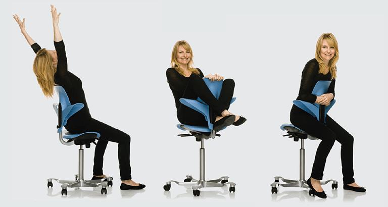 Kontorstole og ergonomi Derfor er kontorstolen vigtig