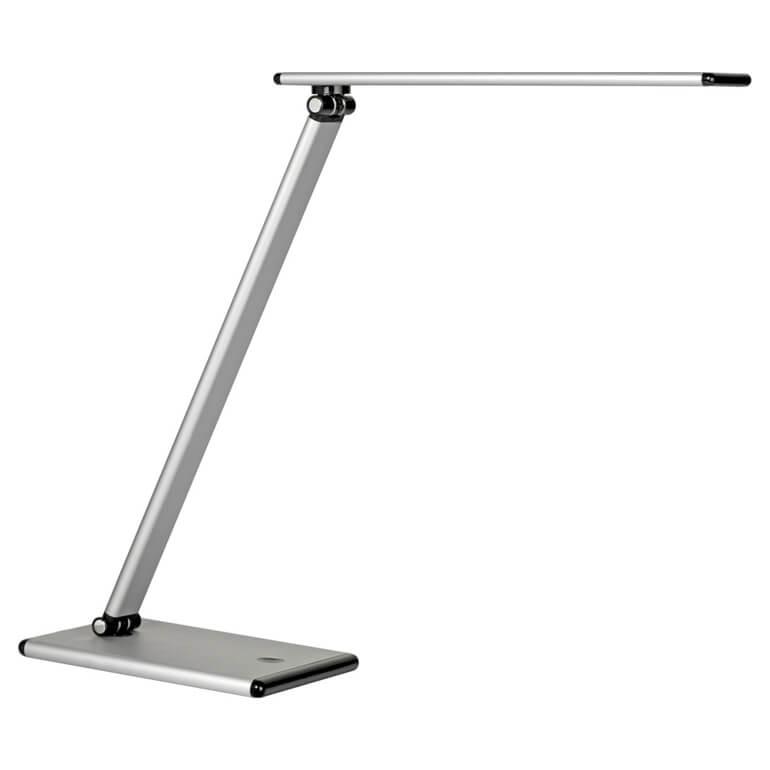 Moderne bordlampe med roterbar arm