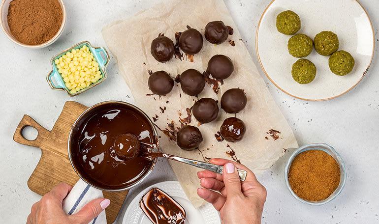 Chokoladetemperering og konfekt