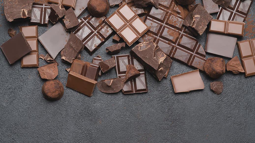 Opbevaring af chokolade