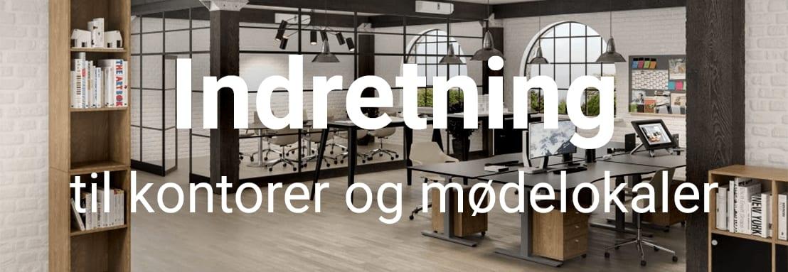 Indretning til kontorer og mødelokaler