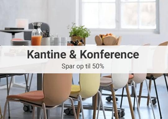 Kantine- og konferencemøbler