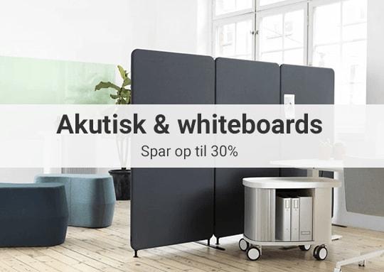 Akustik og whiteboards