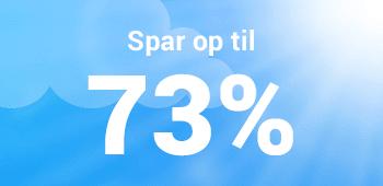 Sommerferie 2019 - Spar op til 73%
