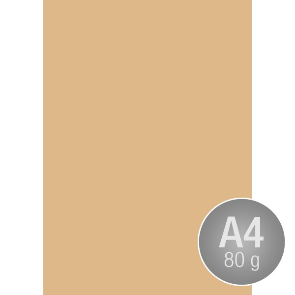 Image Coloraction A4, 80g, 500ark, sand beige