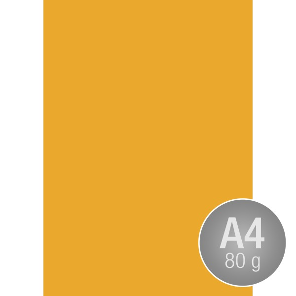 Image Coloraction A4, 80g, 500ark, solgul