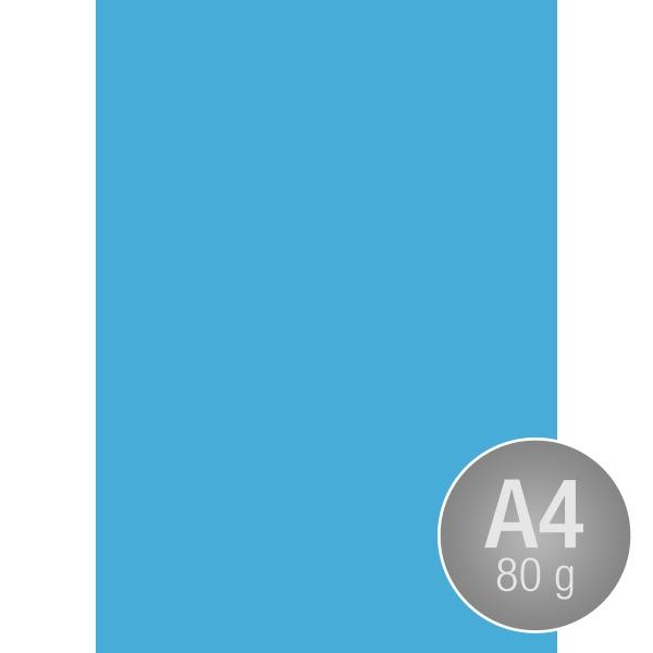 Image Coloraction A4, 80g, 500ark, koboltblå