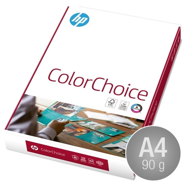 HP ColourChoice Papir A4, 90g, 500 ark