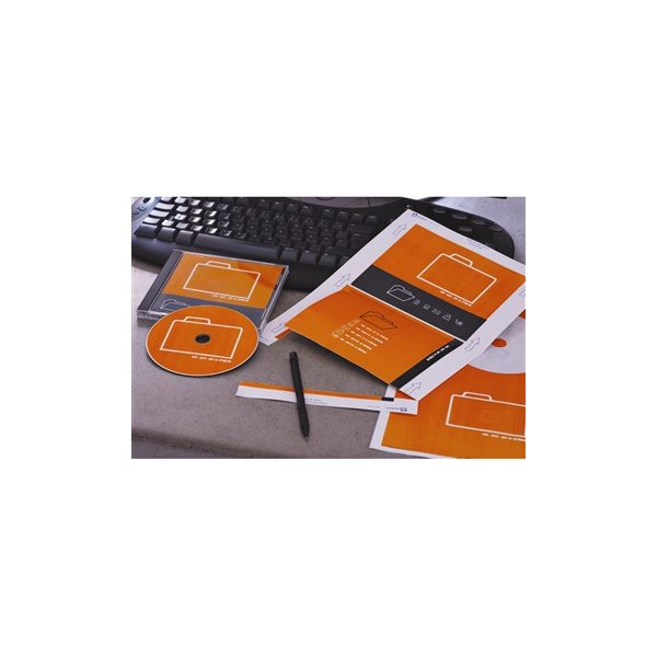 Avery L7676-25 CD-etiketter, 117mm, inkjet/laser