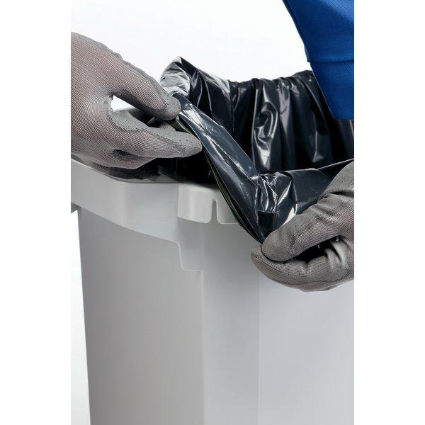 Affaldsspand 60 l, (HxBxD) 555x285x615, Gul