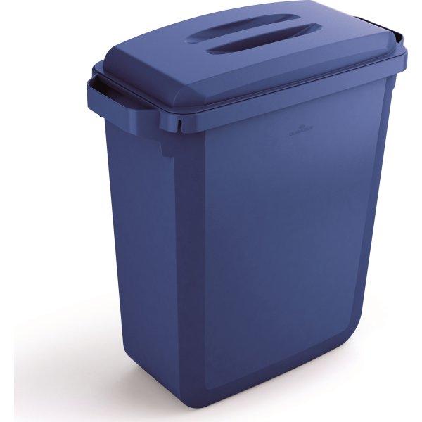 """Låg """"håndtag"""" til affaldsspand 60 l, Blå"""