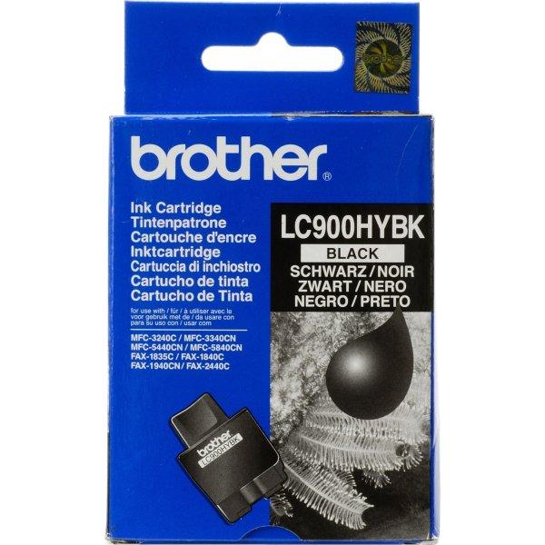 Brother LC900HYBK blækpatron, sort, 900s