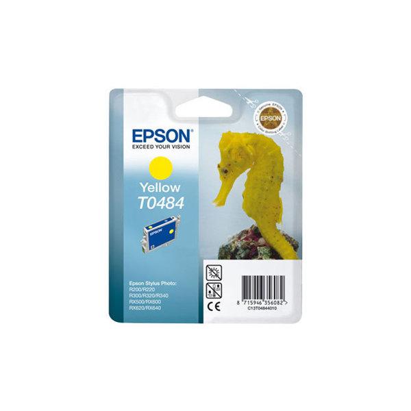 Epson nr.T048/C13T04844010 blækpatron, gul, 436s