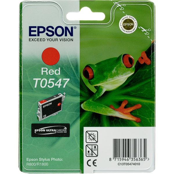 Epson nr.T0547/C13T05474010 blækpatron, mørk rød