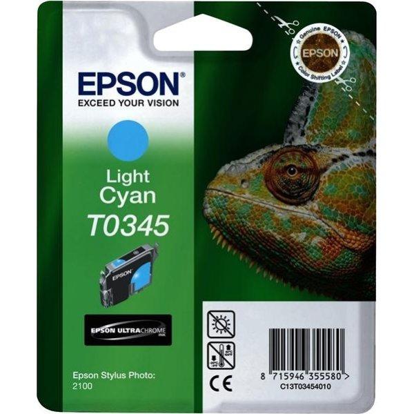 Epson nr.T034/C13T03454010 blækpatron, lys blå, 44