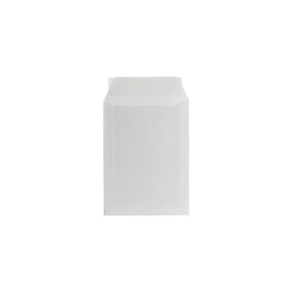 Bong kuvert med papbagside A5, 190 x 250mm, hvid