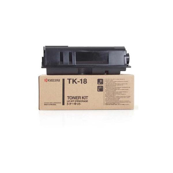 Kyocera TK-18 0T2FM0EU lasertoner, sort, 7200s