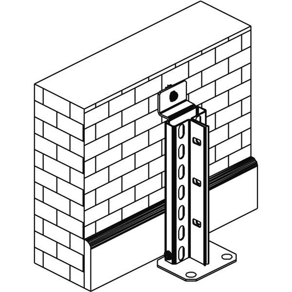 META Clip vægmonteringssæt