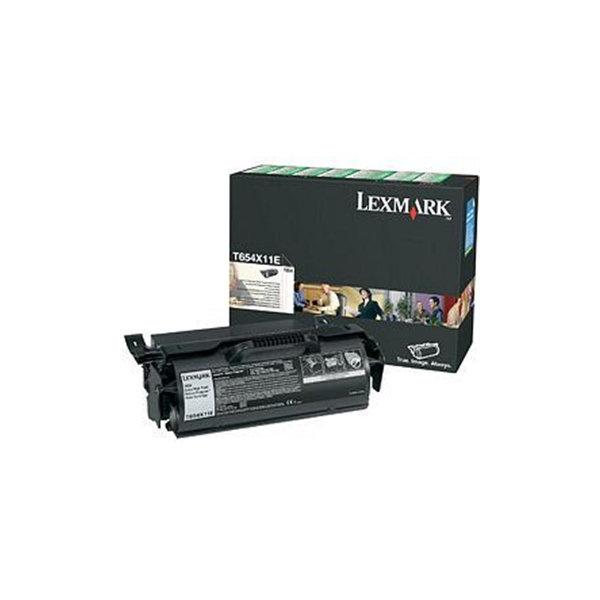 Lexmark 0T650H11E lasertoner, sort, 25000s