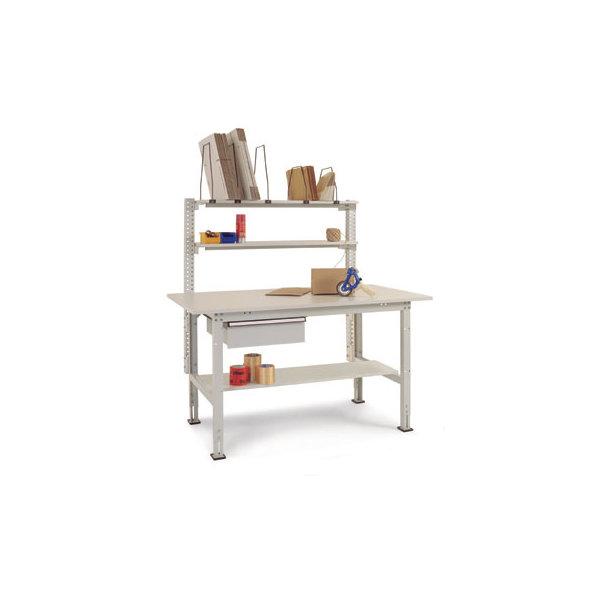 Manuflex pakkebord, opstilling 1, grå