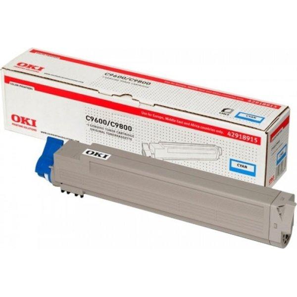 OKI 42918915 lasertoner, blå, 15000s