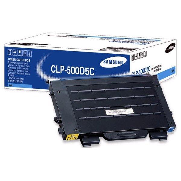 Samsung CLP-500D5C lasertoner, blå, 5000s