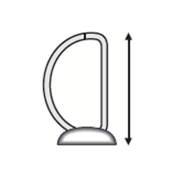 Esselte Indstiksringbind A4, 4 DR, 51 mm, sort
