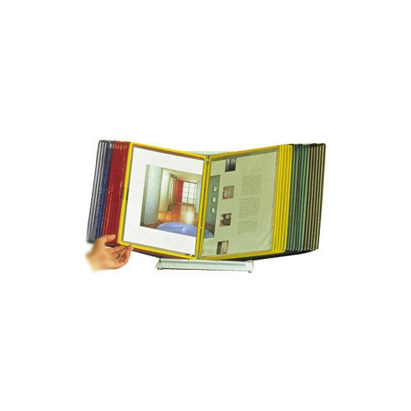 Tarifold bordstander A4 til 20 lommer