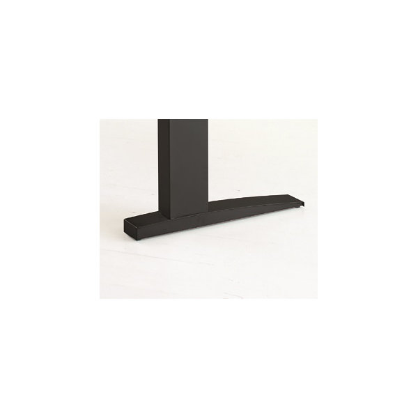 Easy stand 160 hæve/sænkbord centerbue, bøg/sort