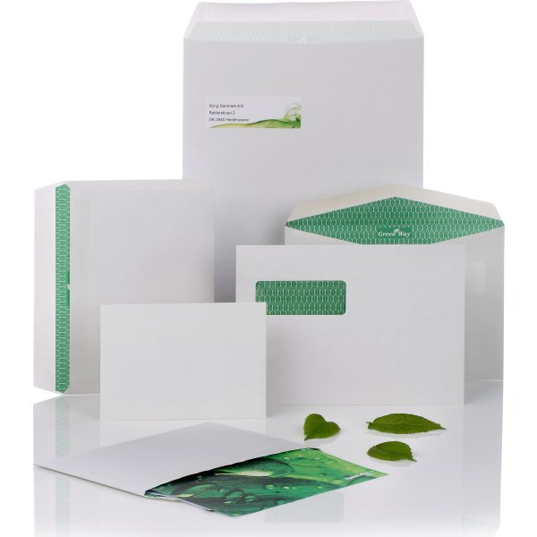 Green Way by Bong Kuvert A5 C5, u/rude