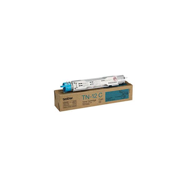 Brother TN12C lasertoner, blå, 6000s