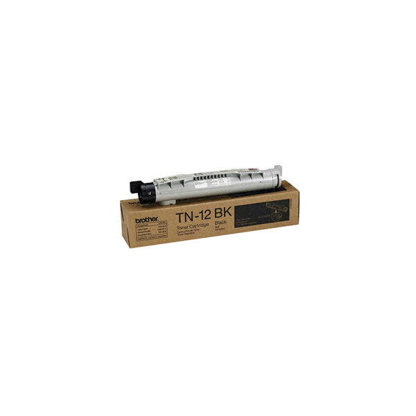 Brother TN12BK lasertoner, sort, 8500s