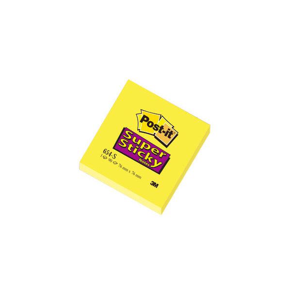 Post-it Super Sticky Notes 76 x 76mm, gul