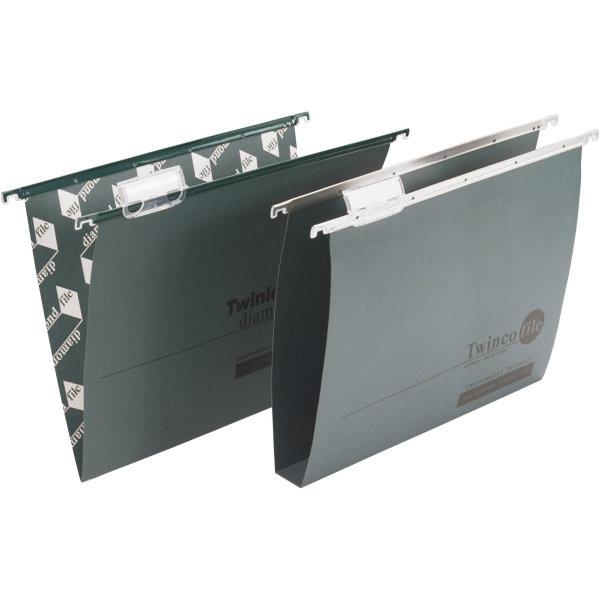 Trade Twinlock Hængemappe folio, bred bund