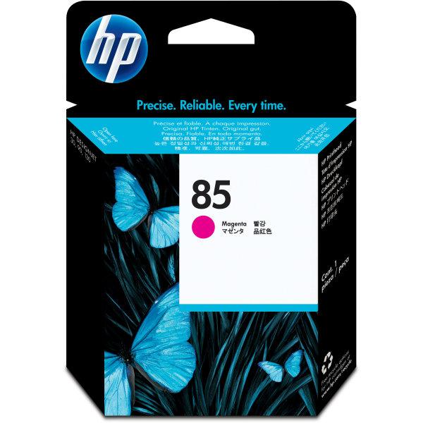 HP nr.85/C9421A printhoved, rød, 48000s