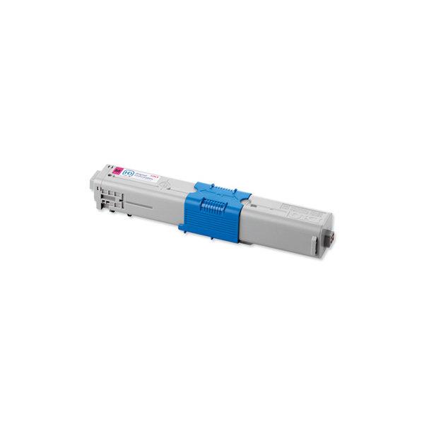 OKI 44059254 lasertoner, rød, 10000s