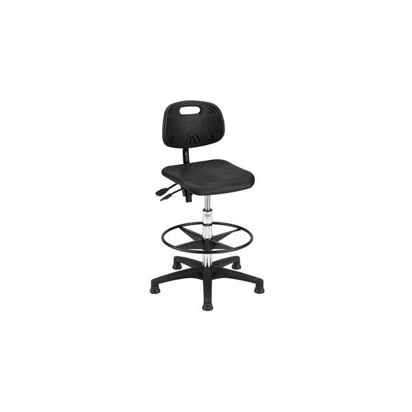 Global Simple Plus arbejdsstol, sort, 49-75 cm