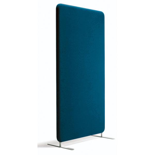 Abstracta softline skærmvæg blå B120xH136 cm