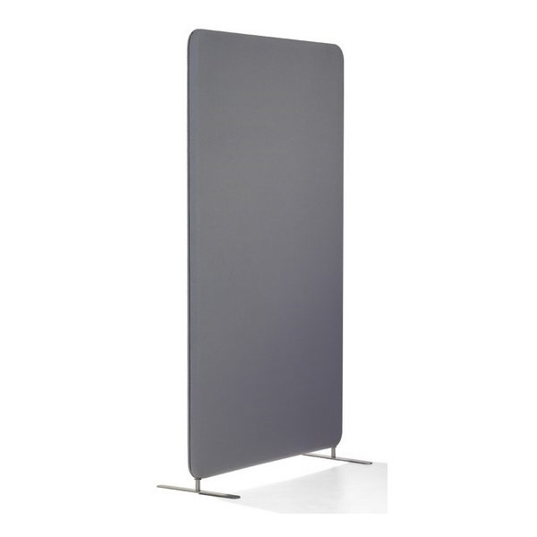 Abstracta softline skærmvæg grå B80xH150 cm