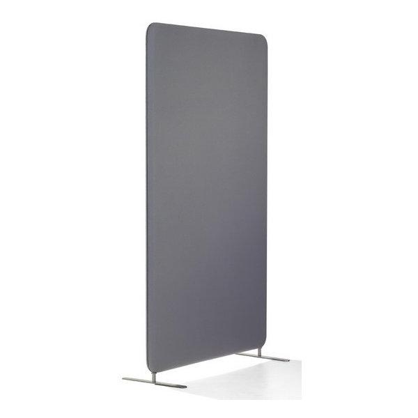 Abstracta softline skærmvæg grå B100xH150 cm