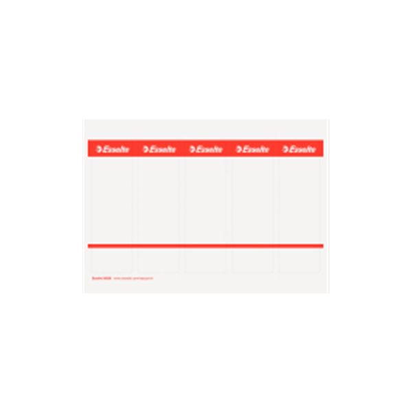 Ess. rygetiket til brevordn.bred t/ pc udskrivning