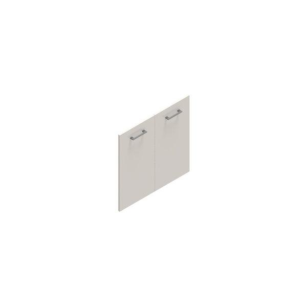 Jive lågesæt t/2 rum u/lås hvid dekor laminat