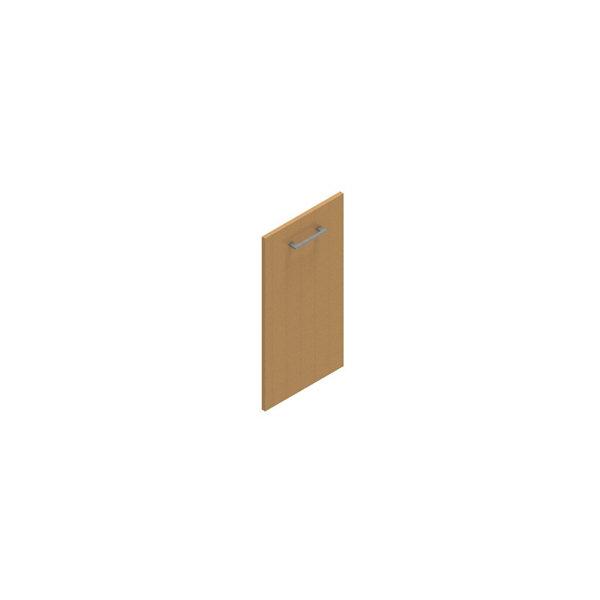 Jive+ låge t/2 rum i højden u/lås bøg finer