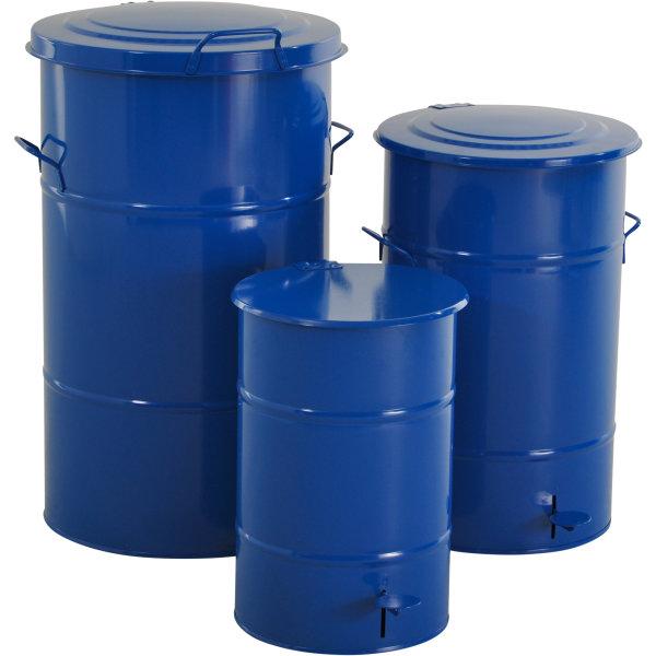 RETRO affaldsbeholder 115 l, Blå