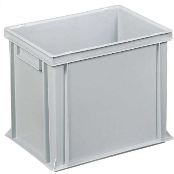 Lagerkasse 31 liter, Lukket håndtag, 40x30x32 cm