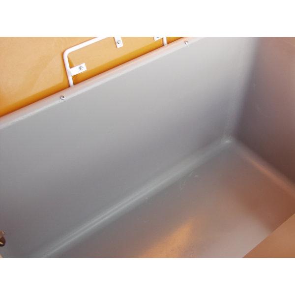Salt-/sandbeholder 100 L, Grå/orange