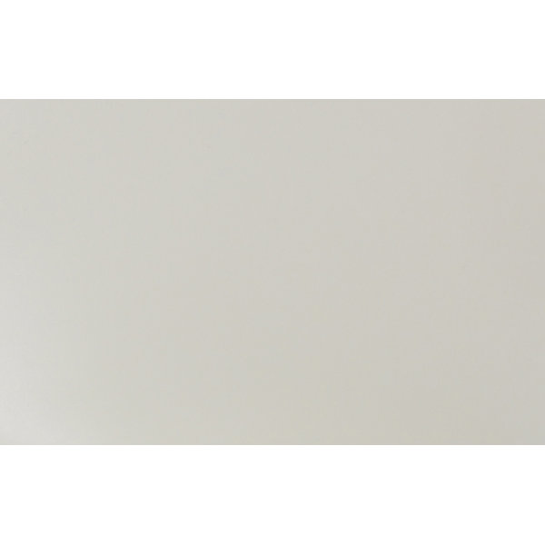 RBM Noor kantinestol off white/metal silver, med