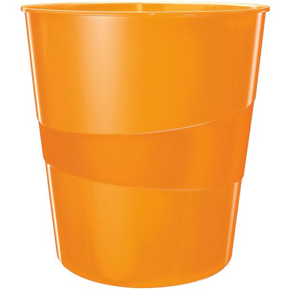 Leitz WOW papirkurv, orange